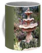 Water Fountain In  The Forest Coffee Mug