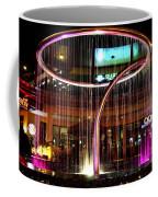 Water Fountain With Circle Seven Shape Coffee Mug
