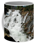 Water In Motion Glen Alpine Falls Coffee Mug