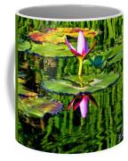 Water Lily Pond Garden Impressionistic Monet Style Coffee Mug
