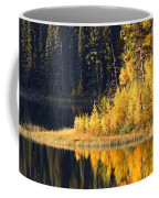 Water Reflection At Jade Lake In Northern Saskatchewan Coffee Mug