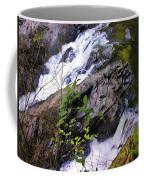 Water Running Down Ledge Coffee Mug