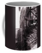 Water Wheel Old Mill Cherokee North Carolina  Coffee Mug by Susanne Van Hulst
