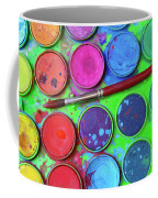 Watercolor Palette Coffee Mug by Carlos Caetano