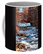 Waterfall Along A Mountain Stream Coffee Mug