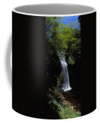 Waterfall In A Forest, Glencar Coffee Mug