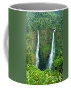 waterfall in Laos Coffee Mug