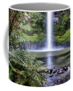 Waterfall Coffee Mug by Les Cunliffe