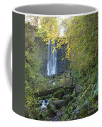 Waterfall Of Vaucoux. Puy De Dome. Auvergne. France Coffee Mug
