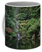 Waterfall - Portland Japanese Garden - Oregon Coffee Mug