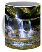 Waterfall Trio At Mcconnells Mill State Park Coffee Mug