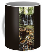 Waterfalls, During The Autumn, Glenoe Coffee Mug