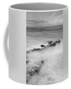 Waterfalls On The Rocks M Coffee Mug