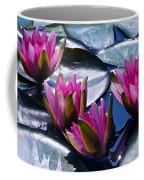 Waterlilies In Bright Sunlight Coffee Mug