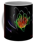 Waterlily Fractal Coffee Mug