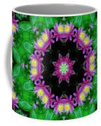 Waterlily Kaleidoscope Coffee Mug