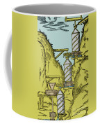 Watermill Reversed Archimedean Screw Coffee Mug