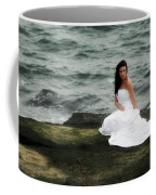 Waves And Rocks Coffee Mug