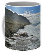 Waves At Kaena State Park 7847 Coffee Mug