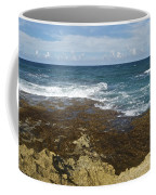 Waves Breaking On Shore 7930 Coffee Mug