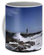 Waves Crash Against The Wexford Coast Coffee Mug