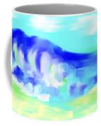 Waves Crashing On The Beach Coffee Mug