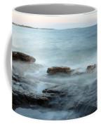Waves On The Coast Coffee Mug