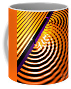 Waves Two Slit 2 Coffee Mug by Russell Kightley