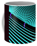 Waves Two Slit 4 Coffee Mug