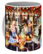 Waving Hi From The Merry-go-round Coffee Mug