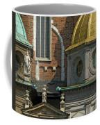 Wawel Domes In Krakow Poland Coffee Mug