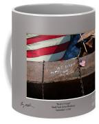We Won't Forget Coffee Mug