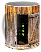 Weathered Barn Door Coffee Mug