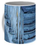 Weathered Blue Coffee Mug