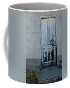 Weathered Door Virginia City Nevada Coffee Mug