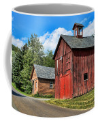 Weathered Red Barn Coffee Mug