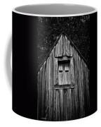 Weathered Structure - Bw Coffee Mug