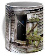 Weathered Wood Window Coffee Mug