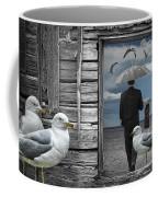 Weathering The Gulls Coffee Mug