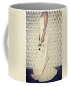 Wedding Dress Coffee Mug by Joana Kruse
