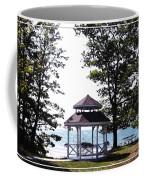 Wedding Gazebo By Lake Erie At Evangola State Park Coffee Mug