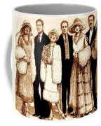 Wedding Sepia Coffee Mug