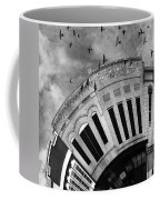 Wee Bryan Texas Detail In Black And White Coffee Mug by Nikki Marie Smith