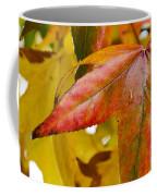 Weeping Red Leaf Coffee Mug