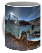 Welcome To Death Valley Coffee Mug by Bob Christopher