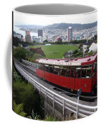 Tram Car Viewpoint - Wellington, New Zealand Coffee Mug