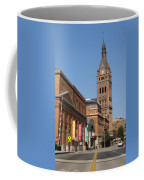 Wells Street Theater District And City Hall Coffee Mug