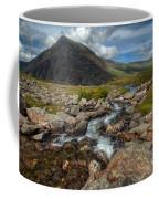 Welsh Valley Coffee Mug by Adrian Evans