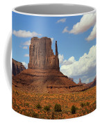 West Mitten Butte Coffee Mug