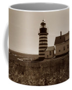 West Quoddy Lighthouse Coffee Mug by Skip Willits